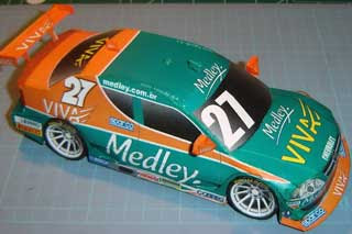 Chevrolet Astra Papercraft