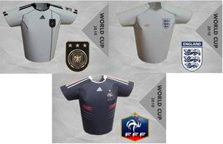 2010 FIFA World Cup Jersey Papercraft
