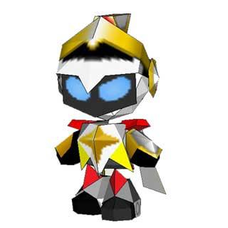 Bomberman Sirius Papercraft