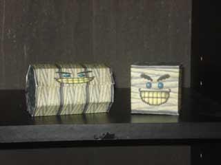 Grindel Spindel Papercraft