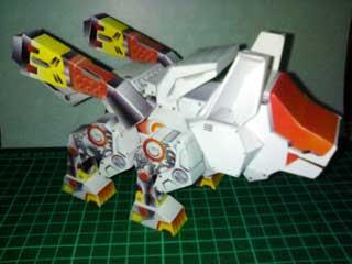 Command Wolf Chibi Papercraft