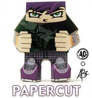 Papercut Paper Toy