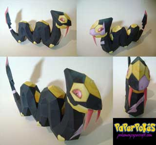 Pokemon Seviper Papercraft