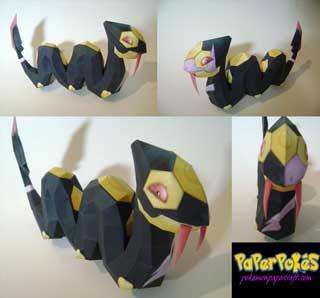 Pokemon Seviper Papercraft