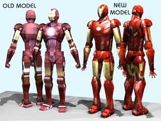Iron Man 2 Papercraft
