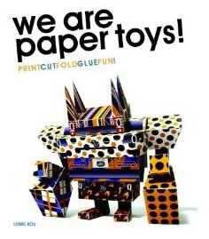 We Are Papertoys Book