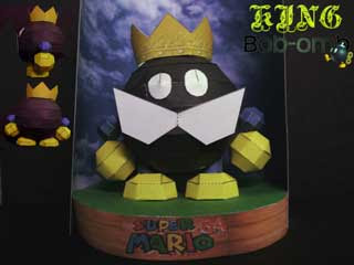 King Bob-Omb Papercraft