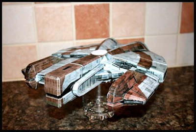 Star Wars Ebon Hawk Papercraft