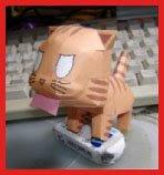 Toradora Tenori Tiger Papercraft