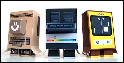 Foldskool Heroes Papercraft Series 3