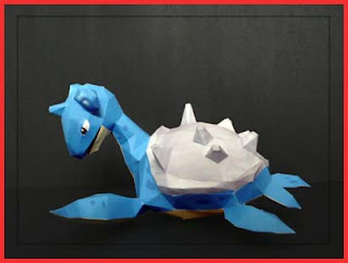 Pokemon Lapras Papercraft