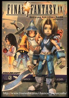 Final Fantasy IX Zidane Papercraft