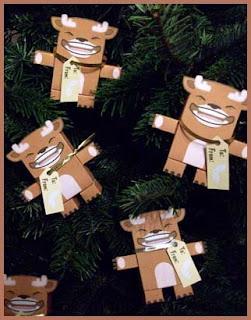 Christmas Reindeer Papercraft