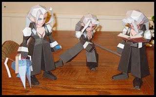 Final Fantasy Sephiroth Papercraft