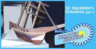 Sir Ernet Shackleton Endurance Ship Papercraft
