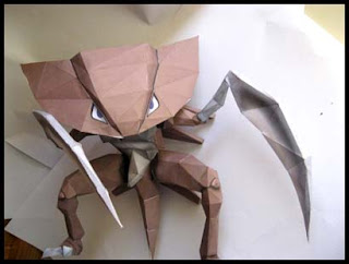 Pokemon Kabutops Papercraft
