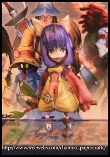 Final Fantasy IX Eiko Papercraft