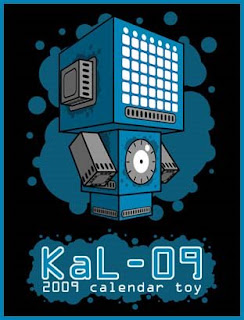 Kal09 Calendar Papercraft