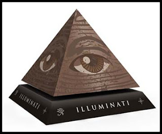 Illuminati Eye of Providence Papercraft