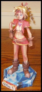 Chrono Cross Kid Papercraft