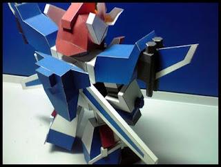 Exkaiser Mecha Papercraft