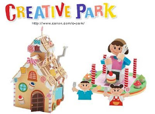 Cookie House Papercraft