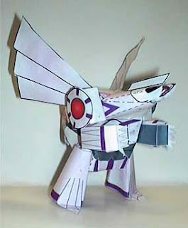Pokemon Palkia Papercraft