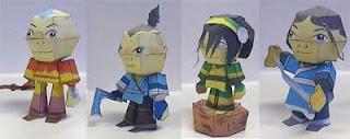 Avatar Papercraft