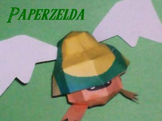Legend of Zelda Bomber Papercraft