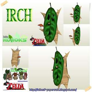 Zelda Korok Irch Papercraft