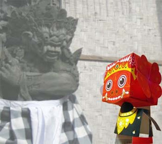 Balinese Mythology Barong Papercraft