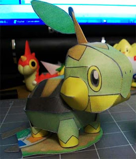 Pokemon Turtwig Papercraft