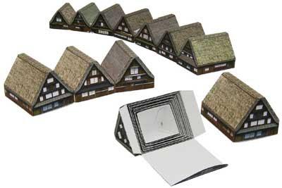 Shirakawa Papercraft