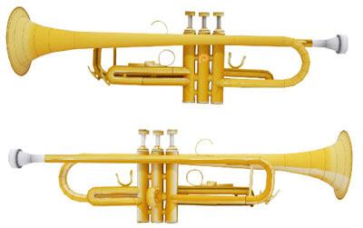 Trumpet Papercraft