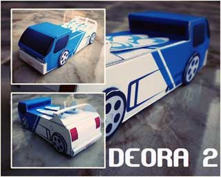 Hot Wheels Deora 2 Papercraft