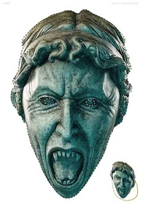 Weeping Angel Mask Papercraft