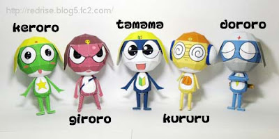 Sgt. Frog Papercraft Army
