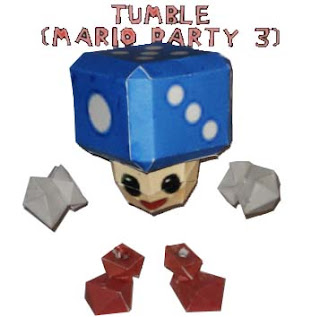 Mario Party 3 - Tumble Papercraft