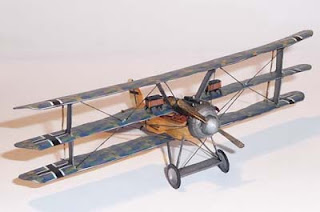 Albatros Dr. II Airplane Papercraft