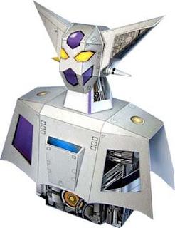 Getter Robo Papercraft Bust