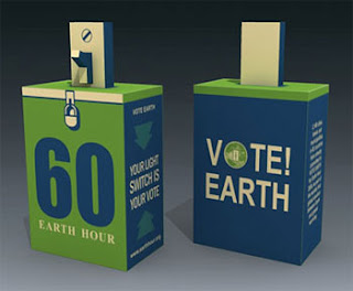 Earth Hour Papercraft 2009