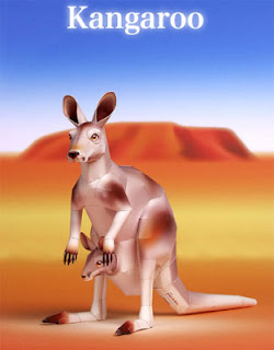 Kangaroo Papercraft
