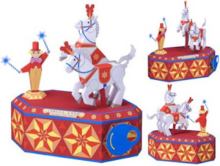 Circus Horse Papercraft