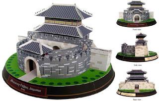 Hwaseong Fortress Papercraft