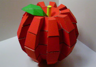 Apple Gear Papercraft