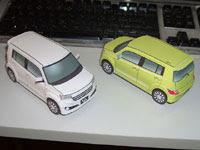 Toyota bB Papercraft