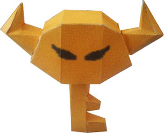 Bowser Key Papercraft