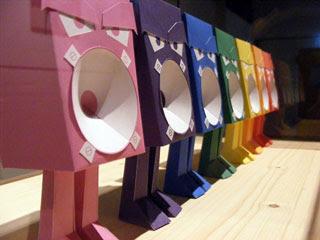 Speakerboss Papercraft Toy