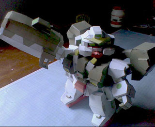 SD Gundam Virtue Papercraft