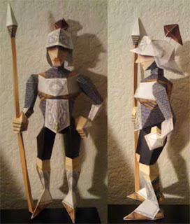 Hylian Knight Papercraft